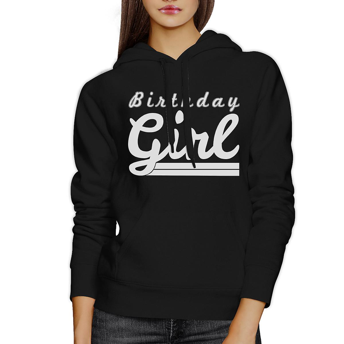 Birthday Girl Black Cute Graphic Hoodie Funny Gift For Her