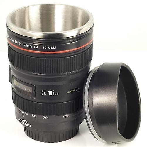 105mm Camera Coffee Model Pouch Cup 24 Lens For Eos Dc139 StainlessGift Mug Fans Igv6b7mYyf