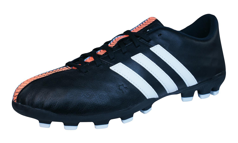 f02f1ac3c adidas Ace 15.3 FG   AG Boys Leather Football Boots   Cleats - Orange and  Black