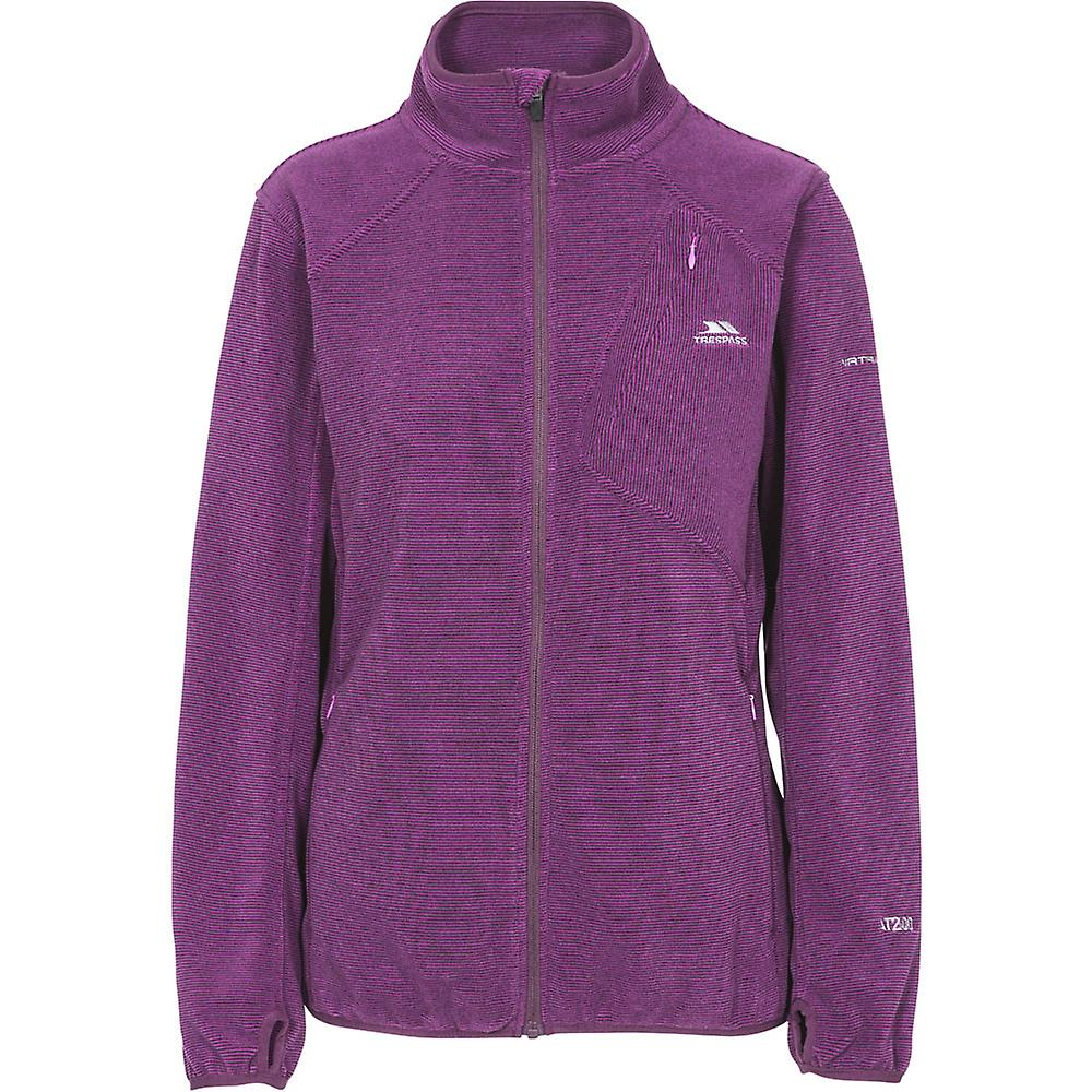 Trespass Womens//Ladies Ciaran Full Zip Warm Walking Fleece Jacket