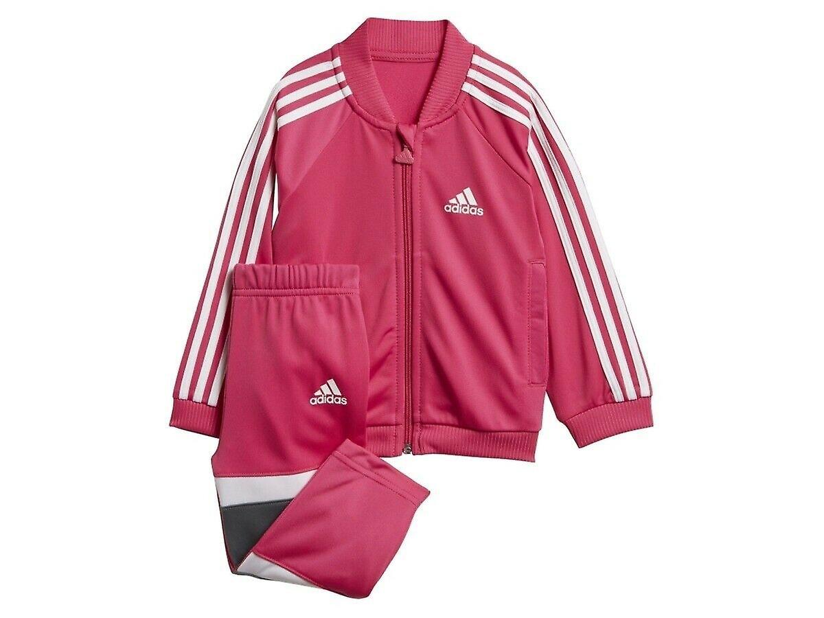 verkoop uk gewoonte baby Adidas baby meisjes glimmend trainingspak DJ1586