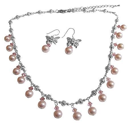 Rosa pärlor äkta