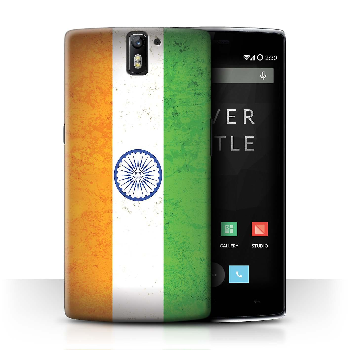 Stuff4 Phone Case Cover For Oneplus One India Indian