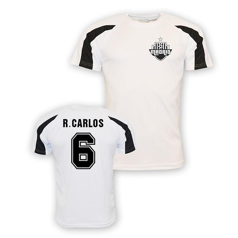 promo code 19c38 e8c29 Roberto Carlos Real Madrid Sports Training Jersey (white) - Kids