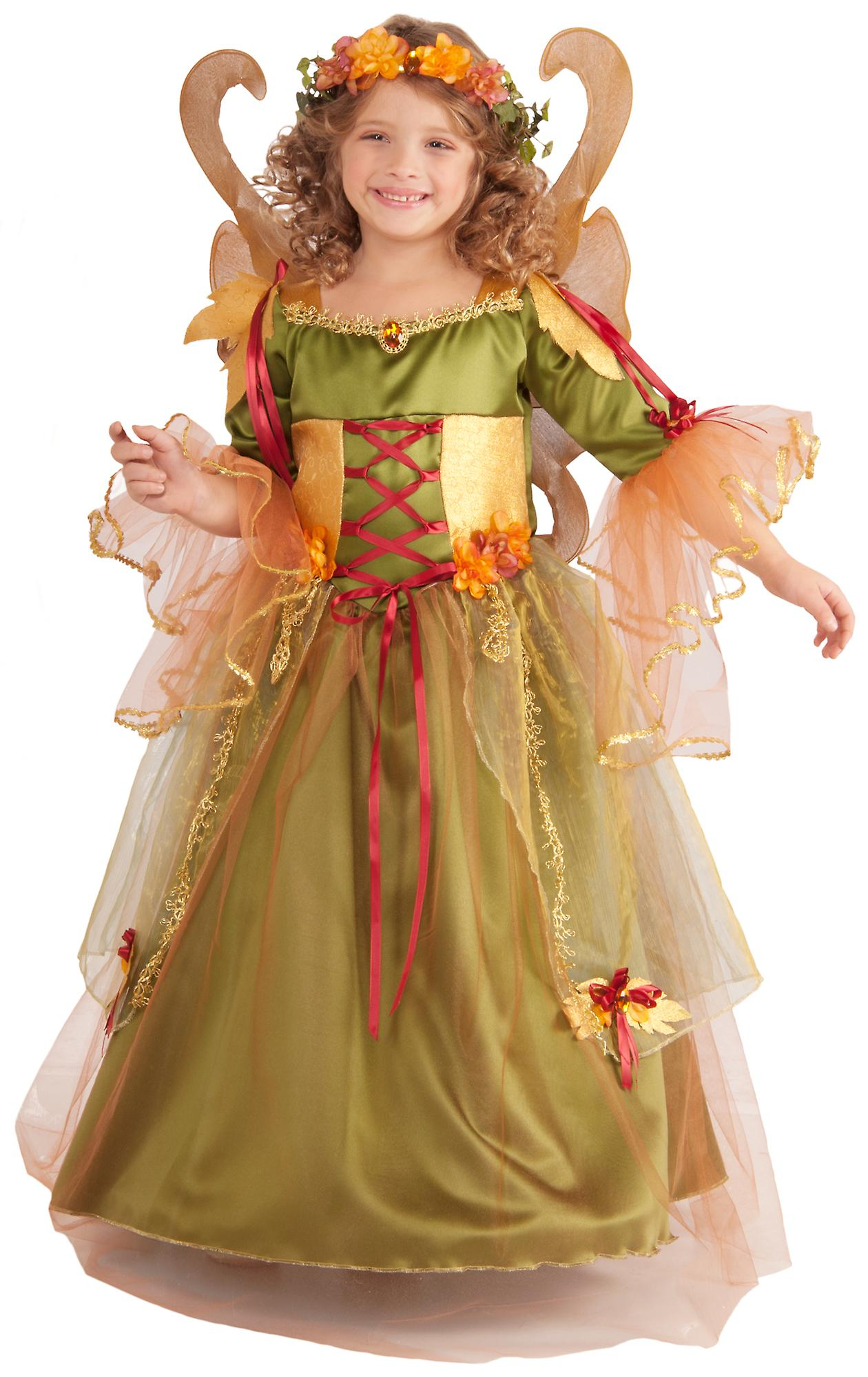08d31a92130 Forest Fairy Queen Pixie Fairytale Book Week Girls Costume