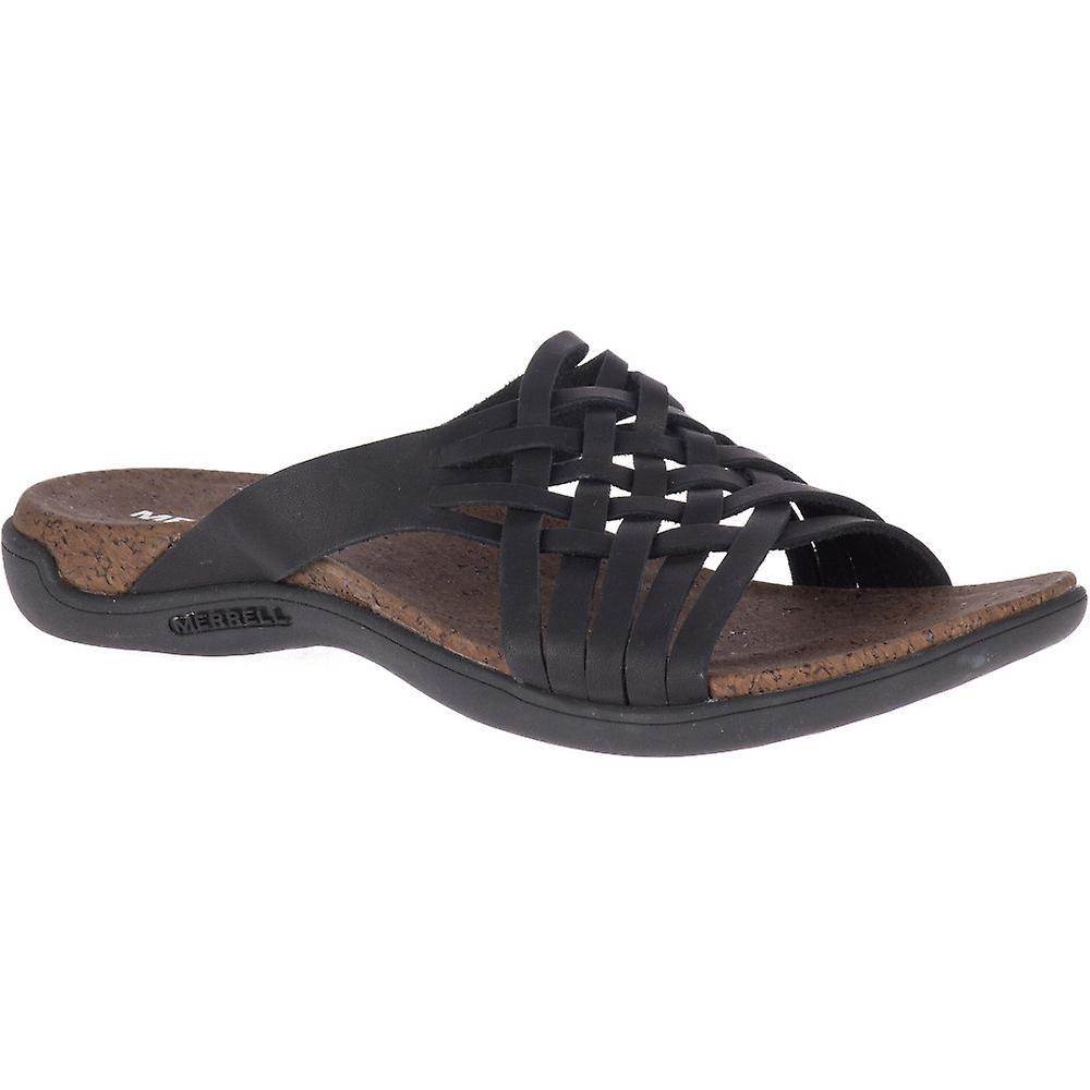 Merrell dame distrikt Mahana dias læder sandaler