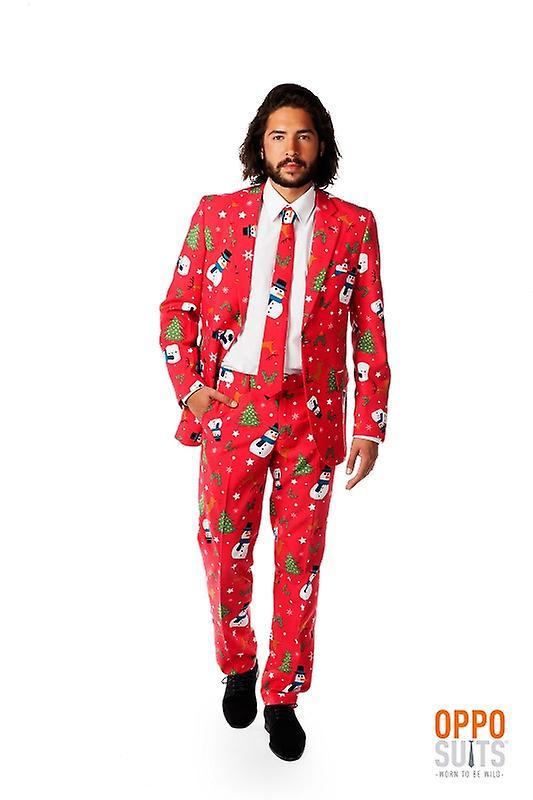 6b5a66913e Opposuit Christian master Xmas Christmas suit slimline Premium 3-piece EU  SIZES