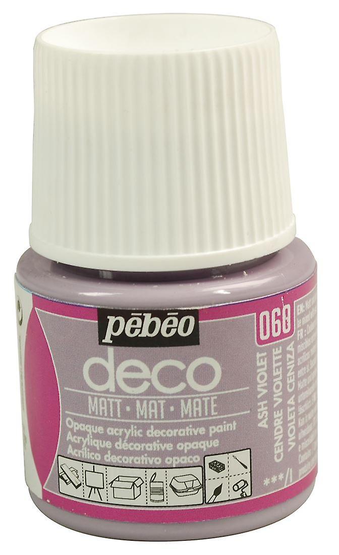 Pebeo Deco Art Craft And Furniture Paint 45ml Matt Colours Fruugo