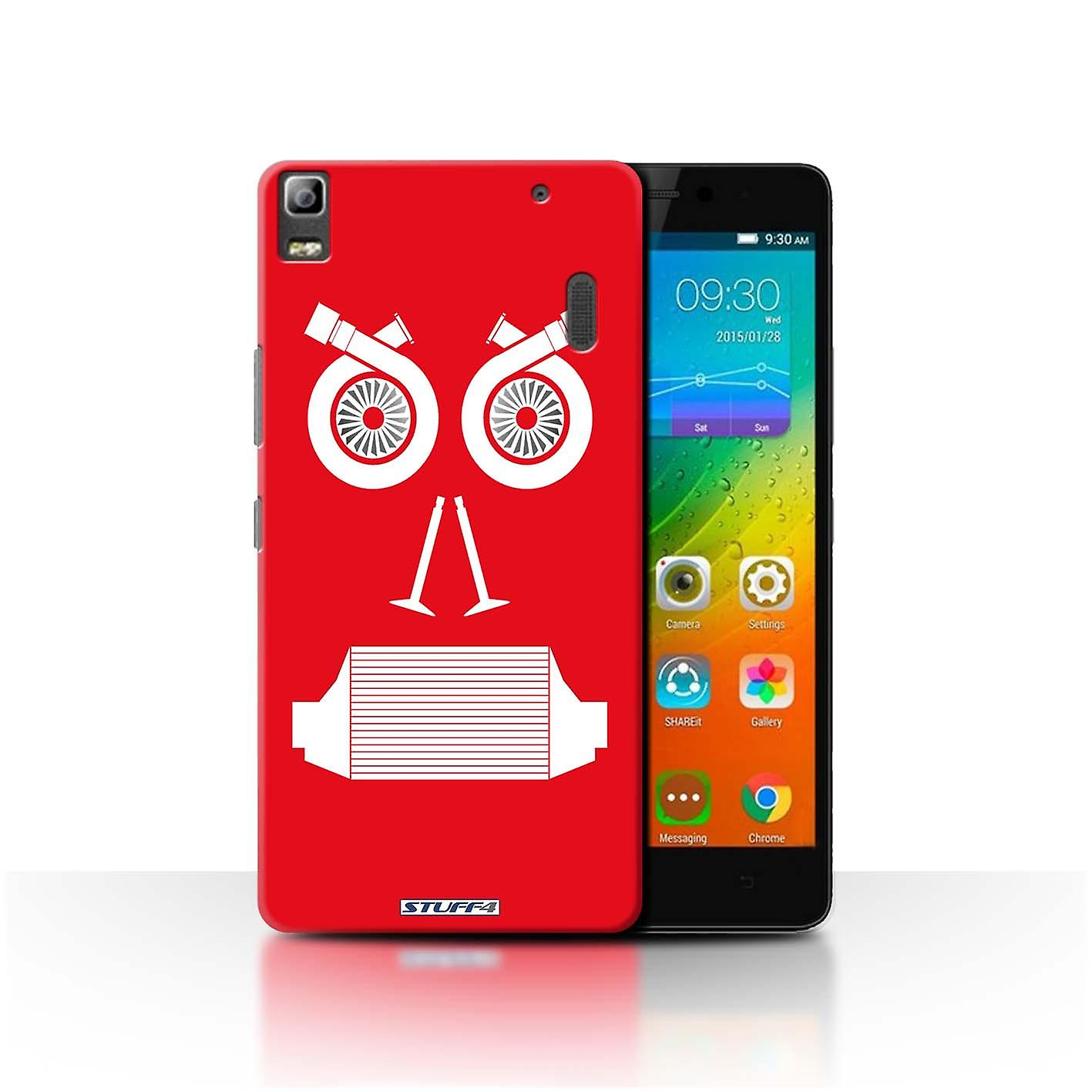 sports shoes 072a0 9b466 STUFF4 Case/Cover for Lenovo A7000/Turbo/Red/Car Part Faces