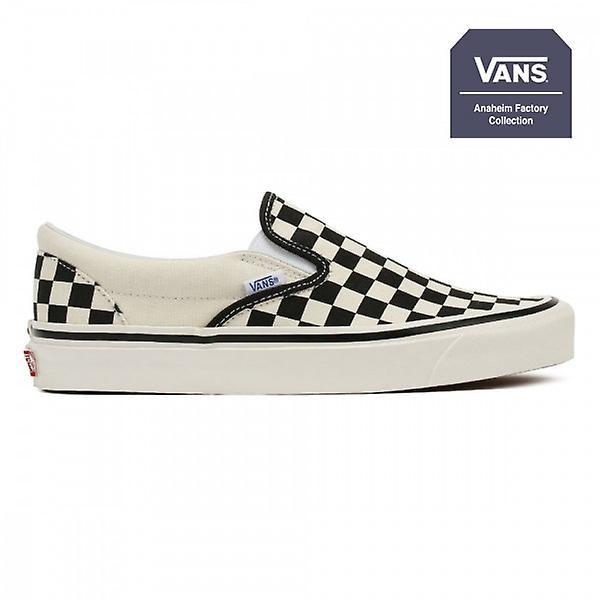 vans slip on checkerboard anaheim