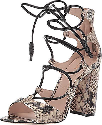 Aldo Womens Miadiaa Leather Open Toe Casual Ankle Strap Sandals