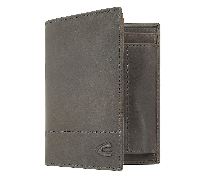 Luxus-Ästhetik kinder Gedanken an Camel active mens wallet wallet purse with RFID-chip protection grey 7387