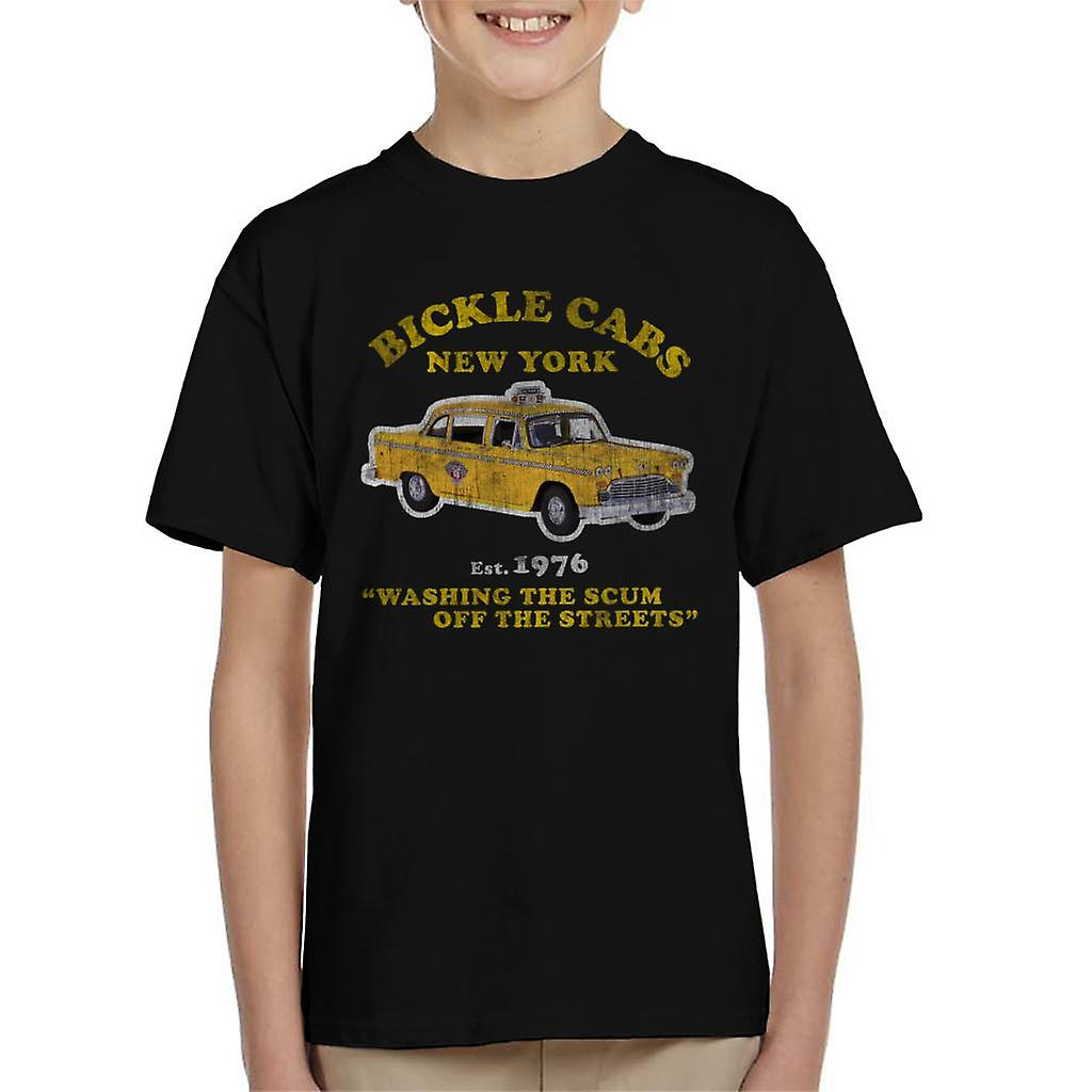 Taxi Driver Bickle Cabs Kid S T Shirt Fruugo