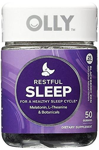 Olly Restful Sleep Melatonin Vitamin Gummies