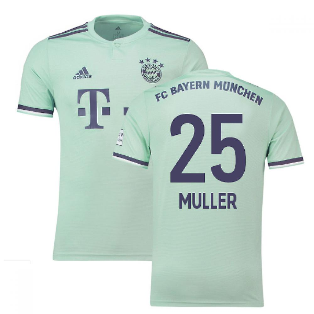 newest bc507 7c2aa 2018-19 Bayern Munich Away Shirt (Muller 25)