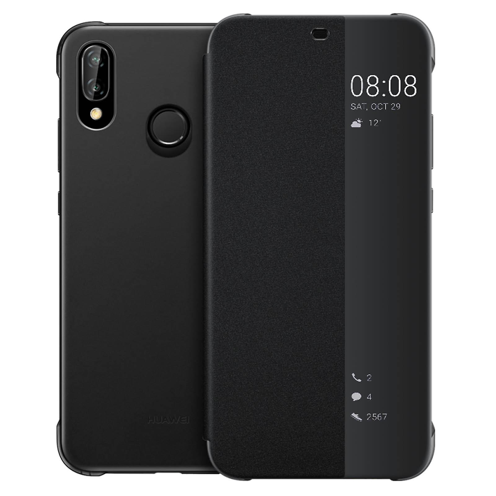 big sale bf65a d608c Official Huawei Smart View flip case for Huawei P20 Lite - Black