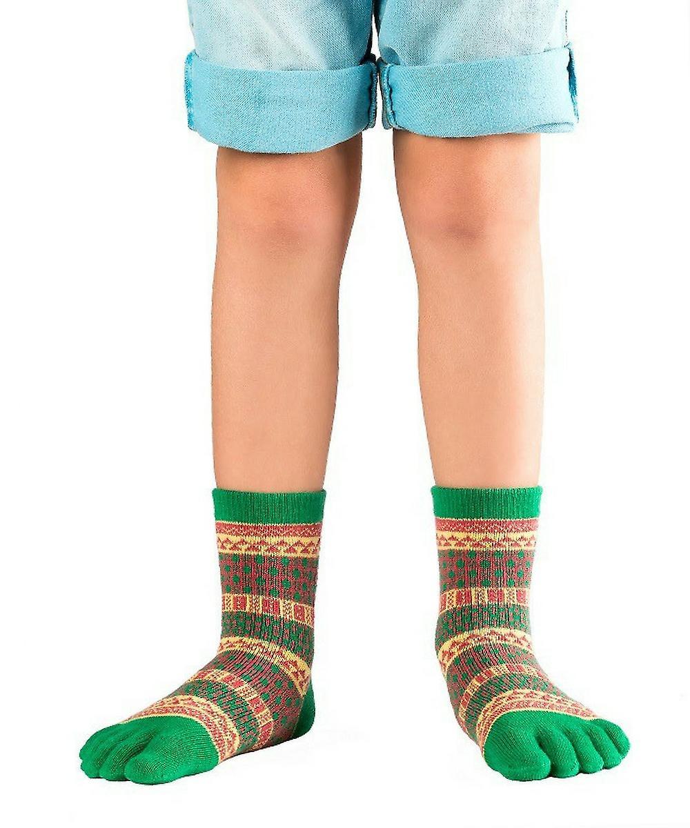 uk goedkope verkoop nieuwe hoge kwaliteit de beste houding Knitido Ontario kinderen, grappige teen sokken gemaakt van katoen voor  kinderen