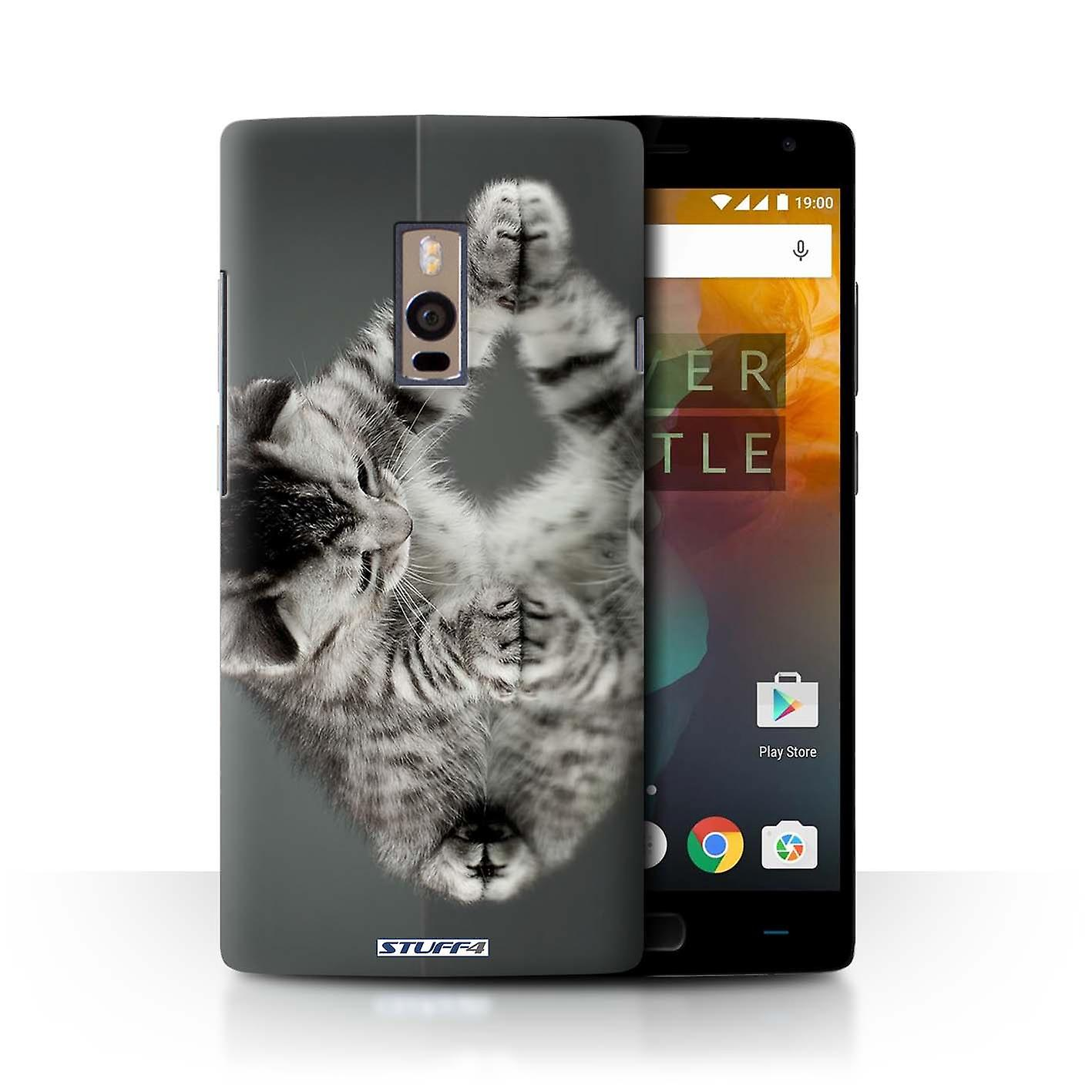 competitive price 269fe 2394b STUFF4 Case/Cover for OnePlus 2/Two/Mirror/Cute Kittens