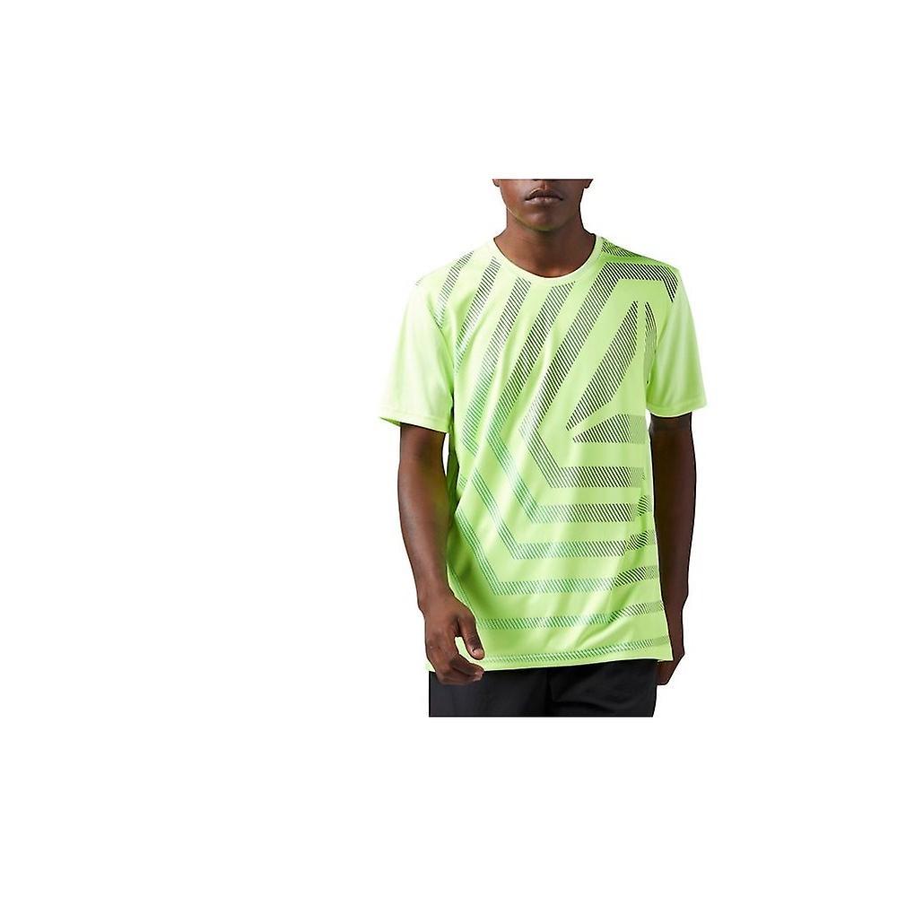 90b6e5d8e487 Reebok Graphic Short Sleeve CE1296 universal all year men t-shirt ...