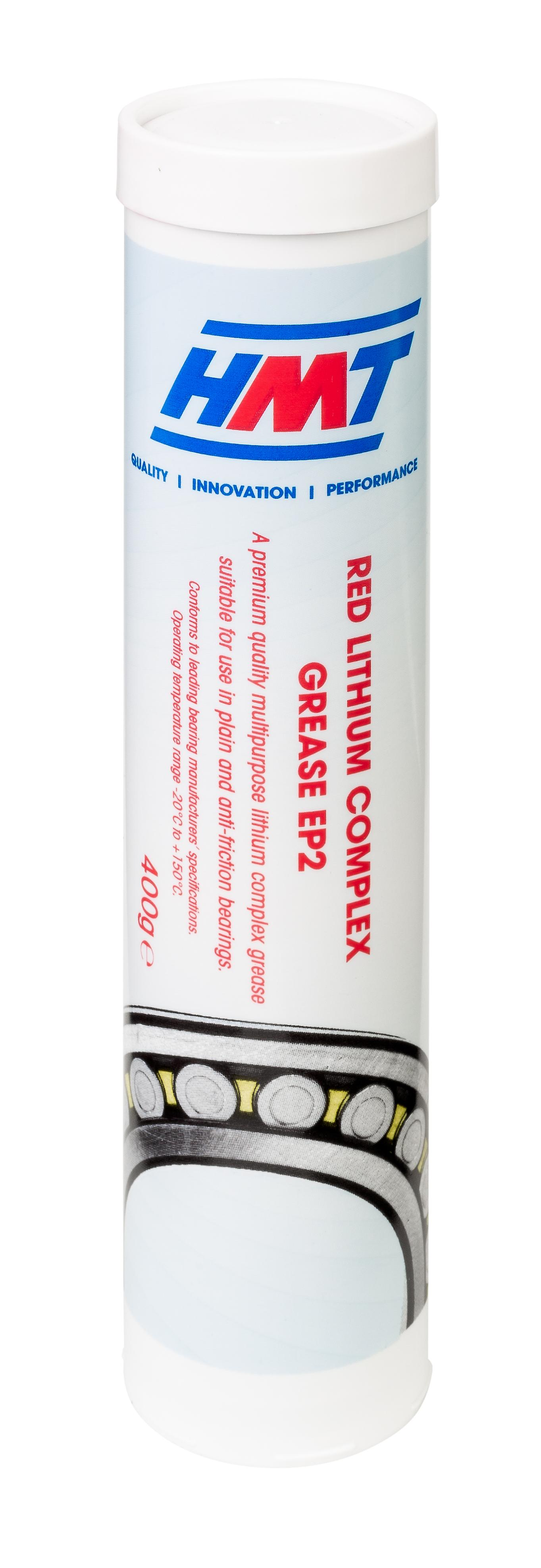 HMT HMTTRLCEP2 Red Lithium Complex Grease EP2 - 400g Cartridge