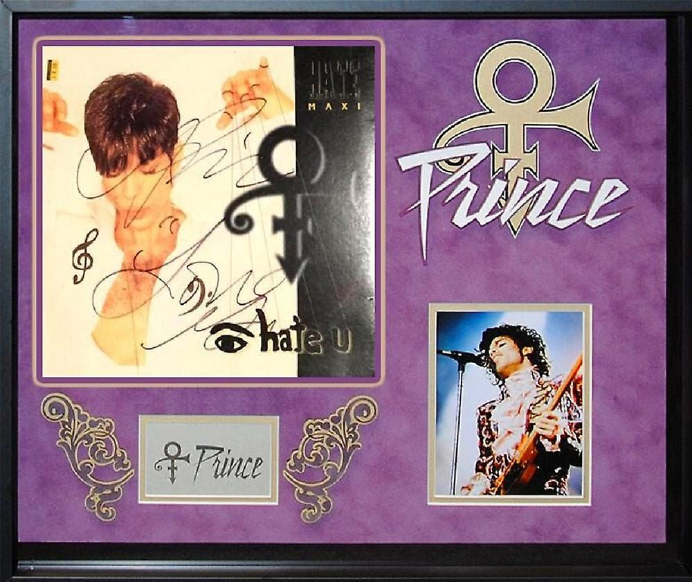 90176e310001c Prince - Eye Hate You - Signed Album