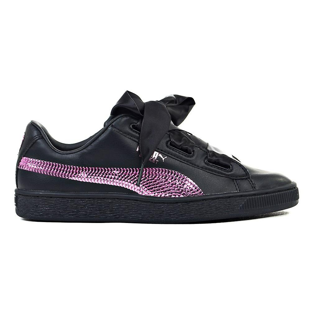 quality design 50062 1d491 Puma Basket Heart Bling JR 36684701 universal all year kids shoes