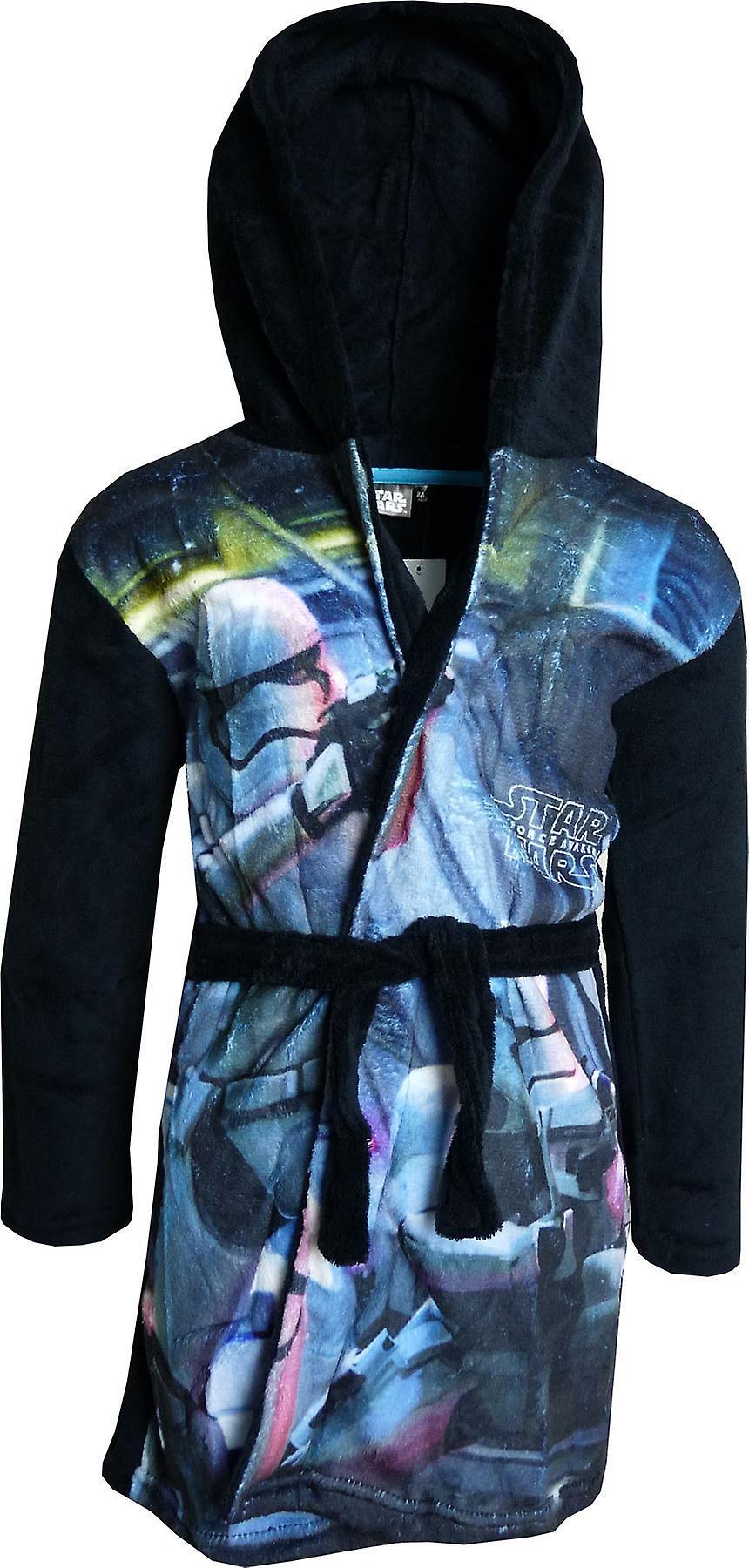 e9fe498a0e3 Jongens DHQ2062 Star Wars zachte Fleece badjas capuchon