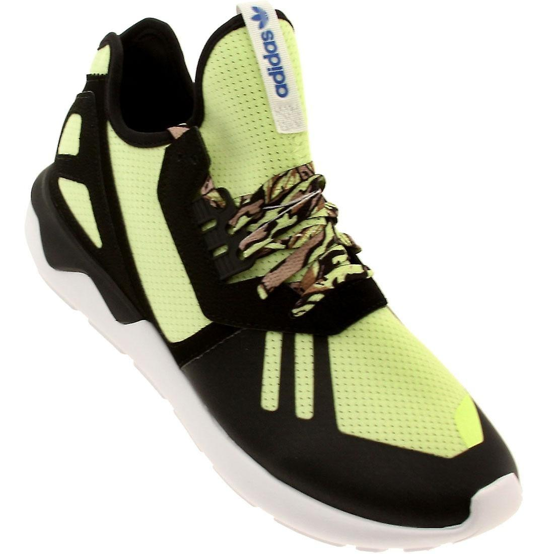 adidas tubular runner mens trainers shoes black and