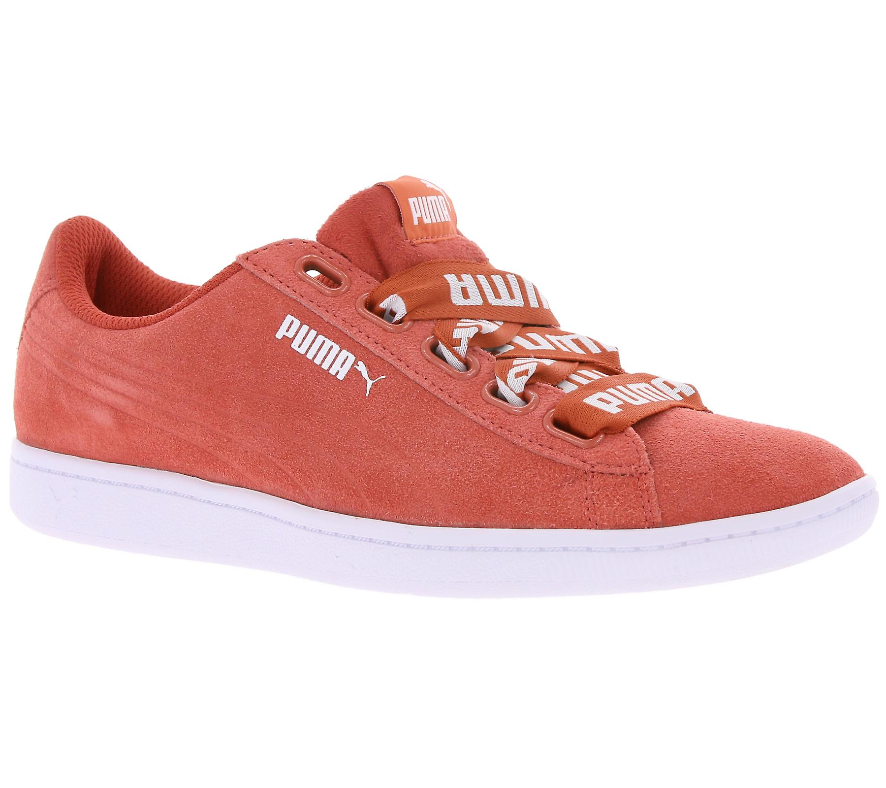 PUMA leather sneaker women Vikky Ribbon bold red  3d64ee82b