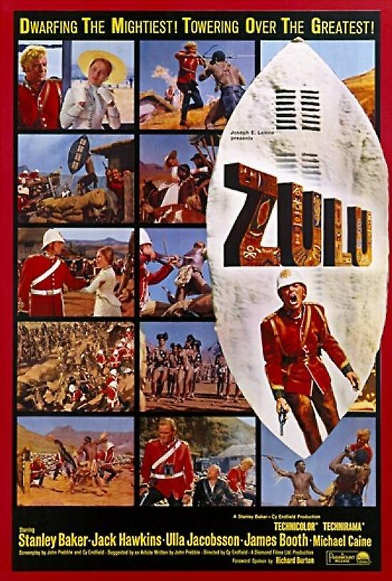 Zulu Movie Poster 11 X 17 Fruugo