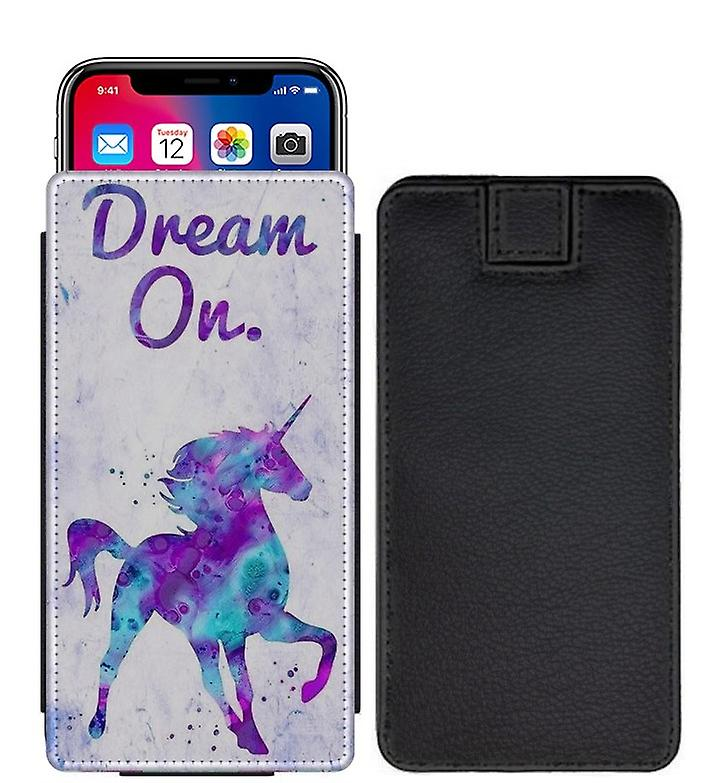 check out 2363a 0caf2 Unicorn Custom Designed Printed Pull Tab Pouch Phone Case Cover for BLU  Studio J2 - UN10