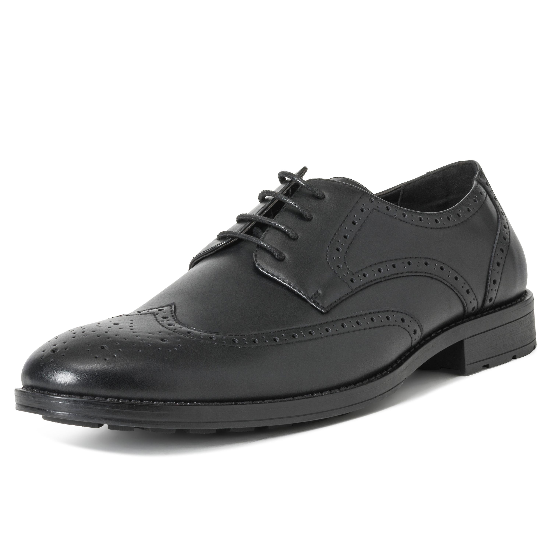 Dr Keller Flat Slip On Leather Lined Lightweight Comfy Shoes Black Work Smart