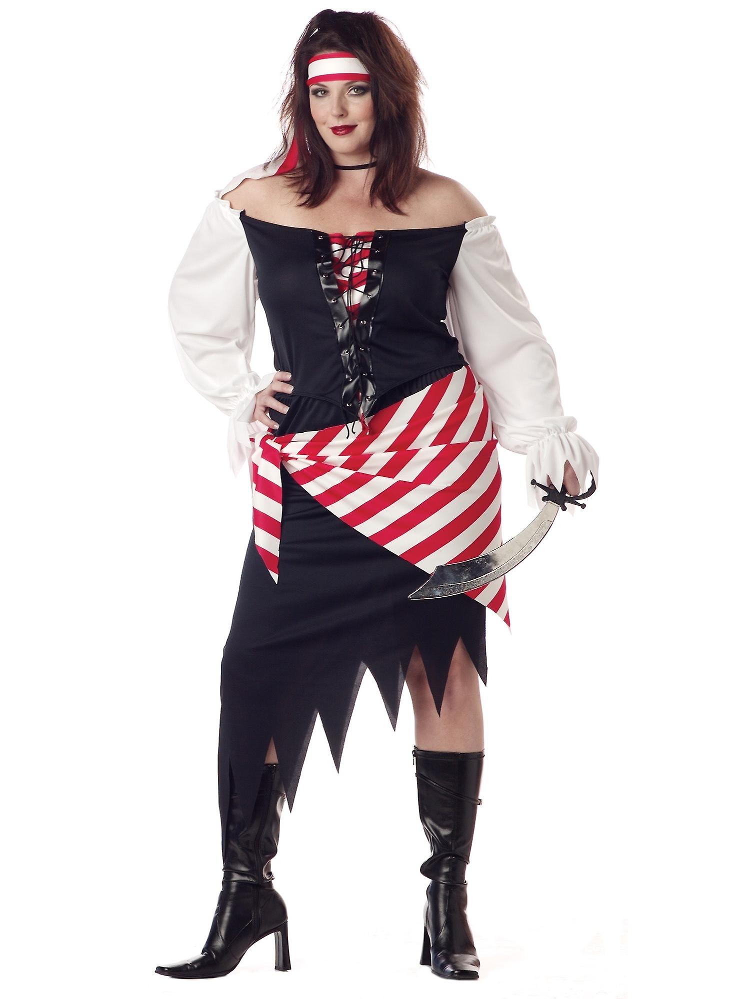 Pirate Beauty Adult Women Plus Size Costume