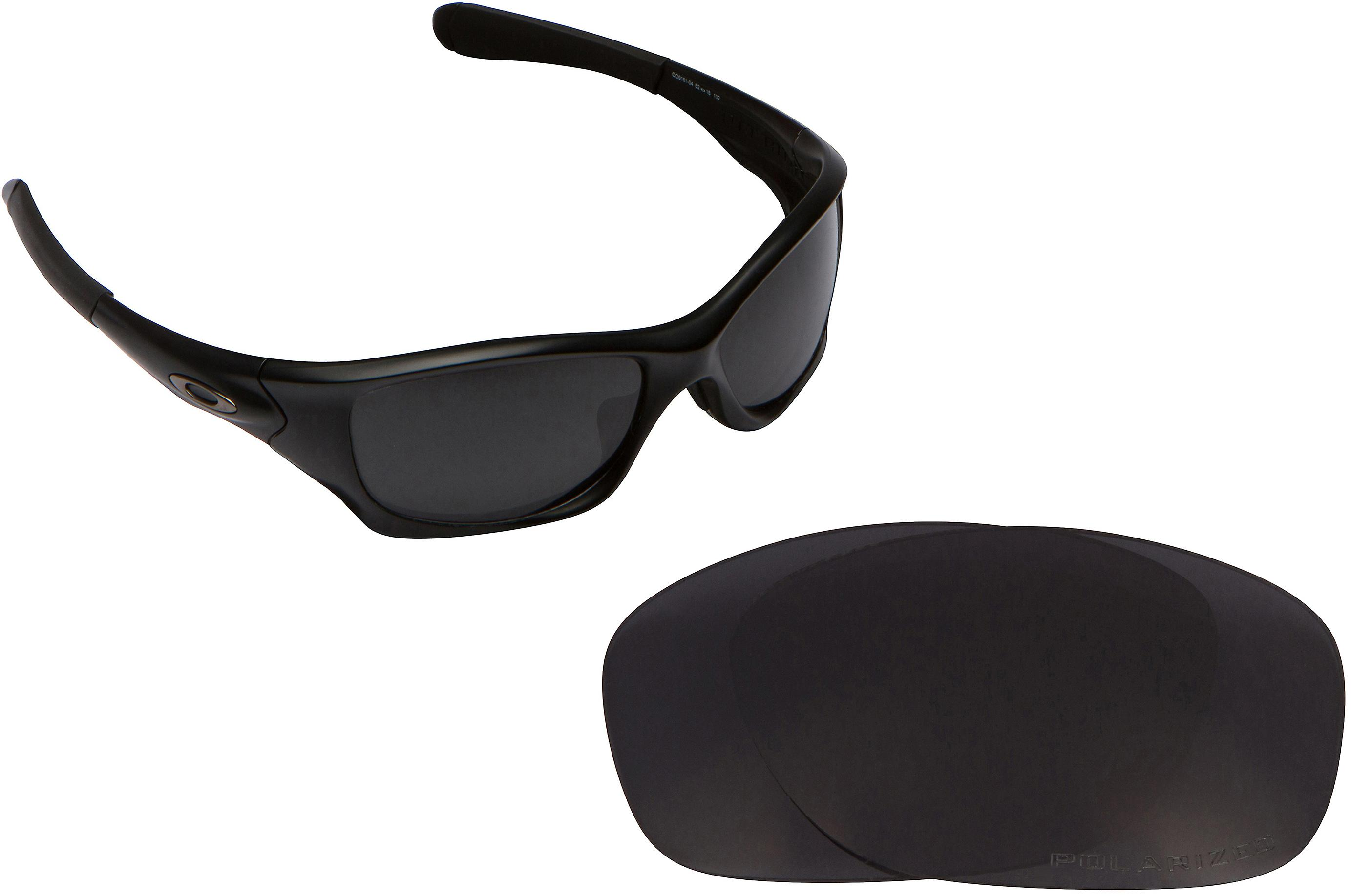 5ebe9566ad PIT BULL (Asian Fit) Replacement Lenses Polarized Black by SEEK fits OAKLEY