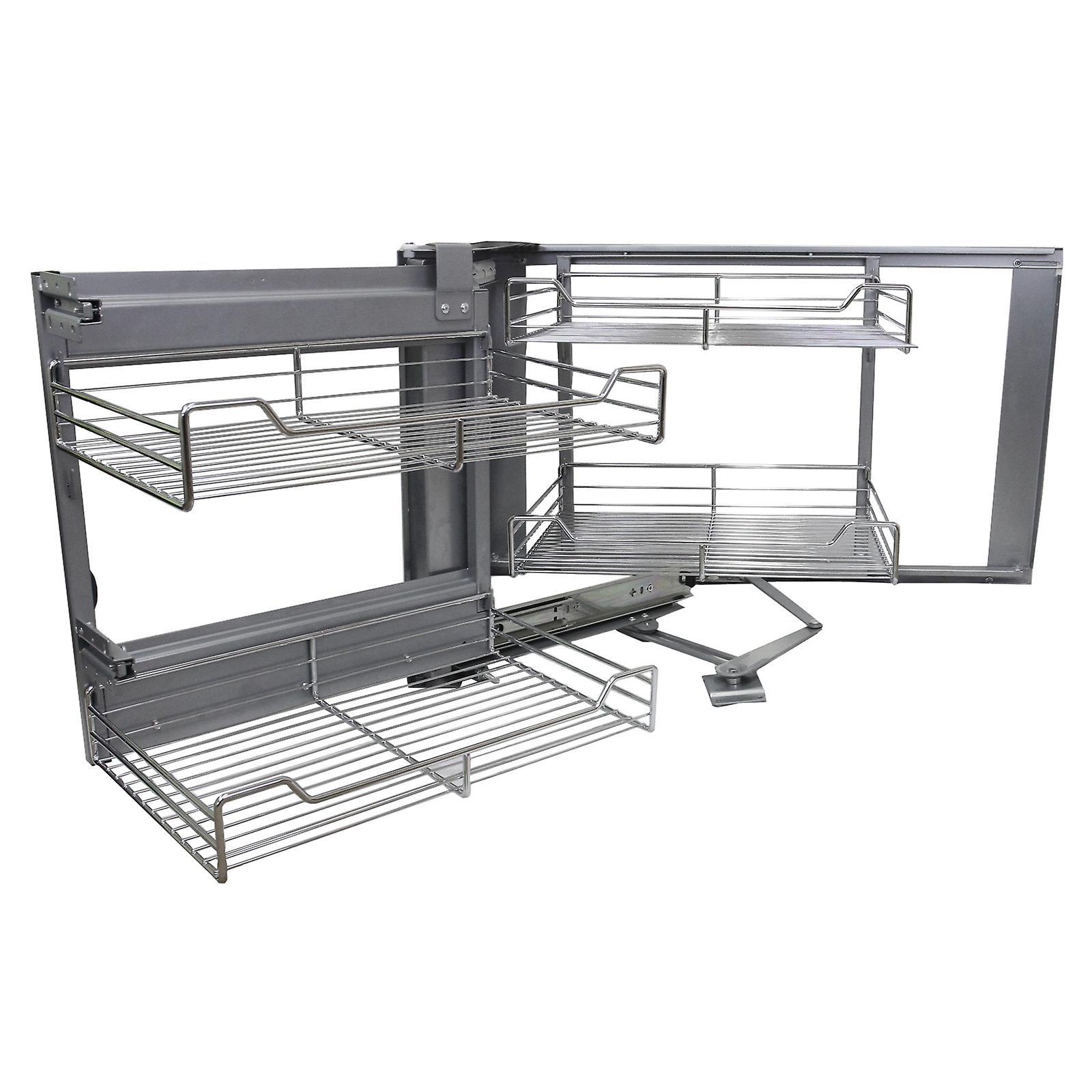 KuKoo Ecke Küche Schrank herausziehen Schubladen - links/rechts