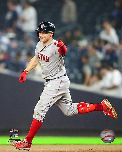 Brock Holt first player to ever hit for the cycle in MLB playoff history  Game 3 of the 2018 American League Division Series Photo Print