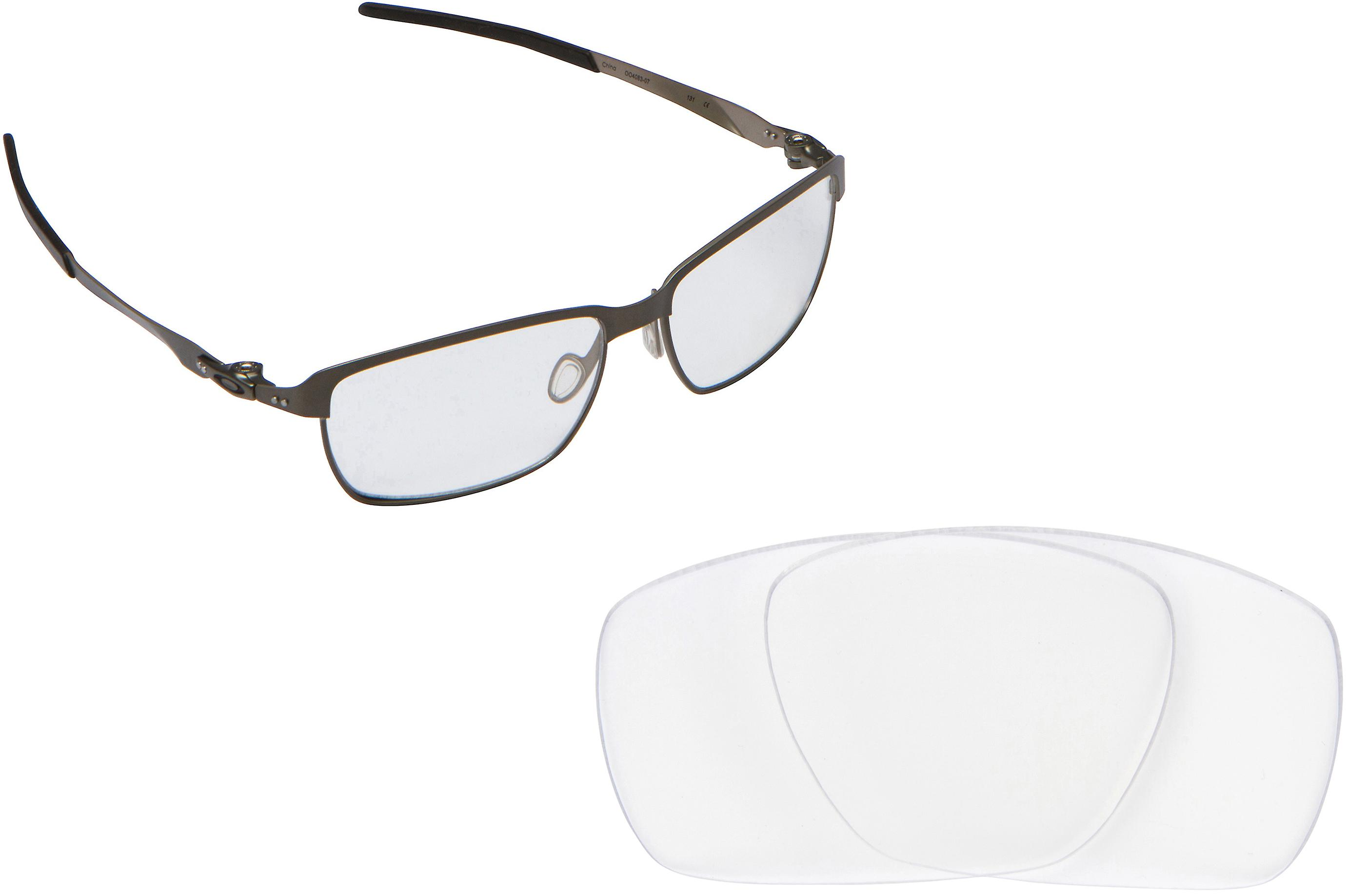 2c669edf948 TINFOIL CARBON Replacement Lenses Crystal Clear by SEEK fits OAKLEY  Sunglasses