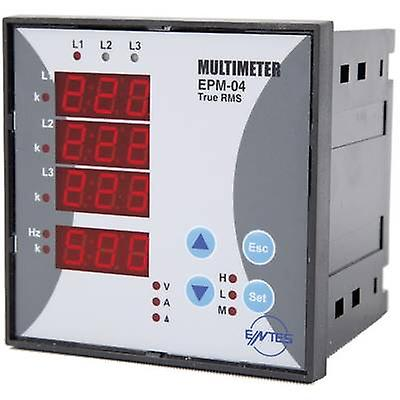 ENTES EPM-04C-96 Programmable 3-PHASE BUILD-AC-Multimeter EPM-04C-96  Voltage, current, frequency, operating hours, Total Hours