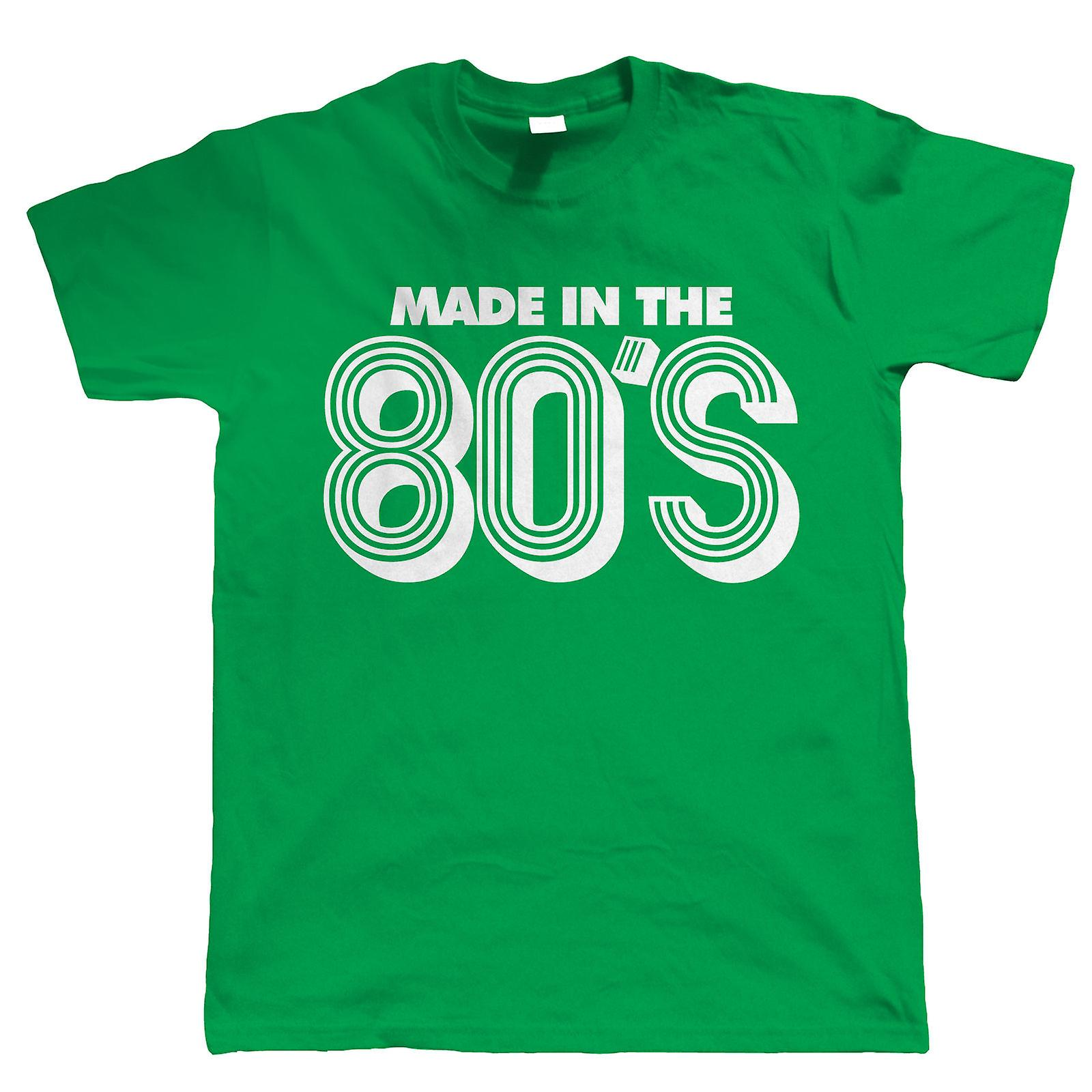 Made In The 80s Funny 30th Birthday T Shirt