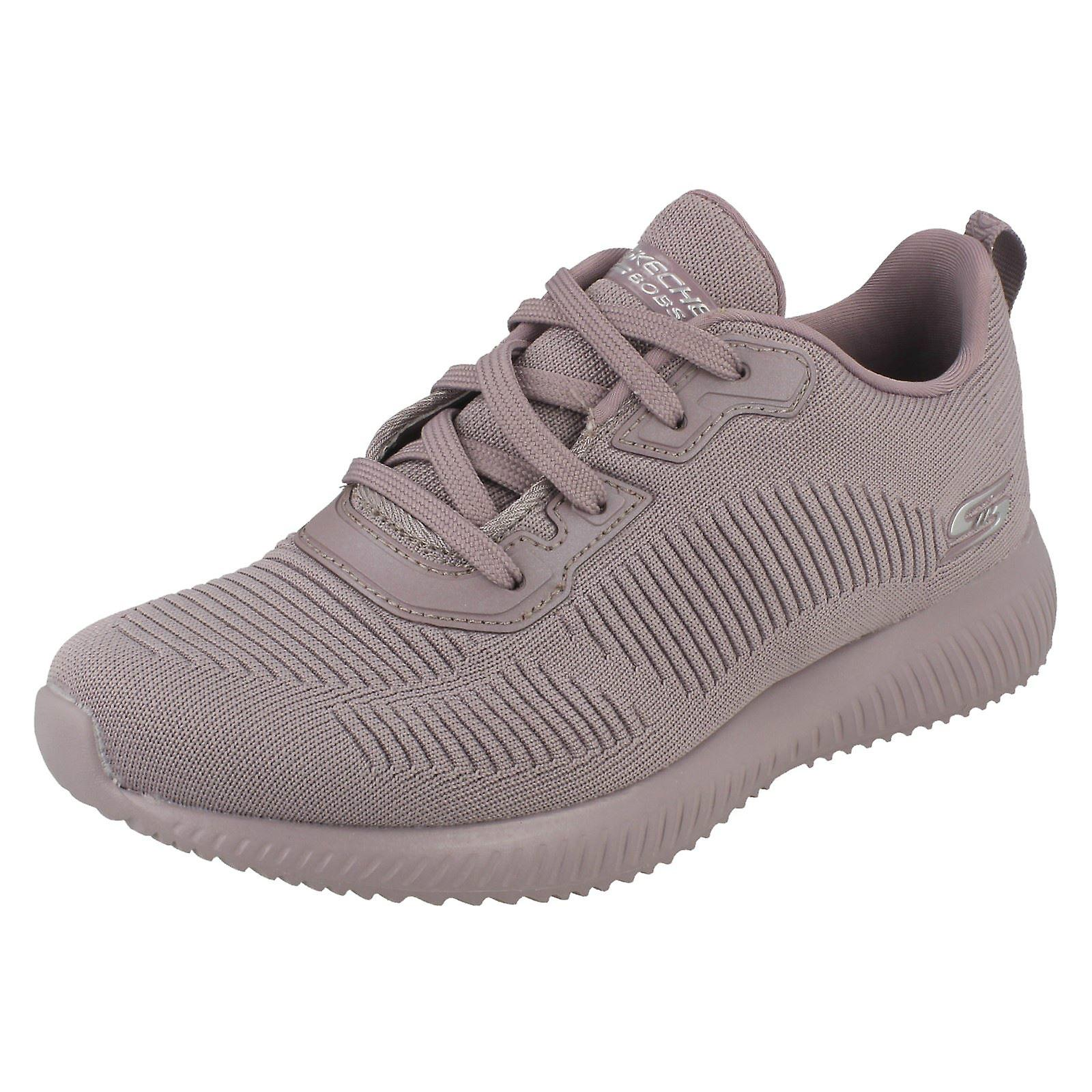 Ladies Skechers Trainers Bobs Sport Tough Talk With Memory Foam
