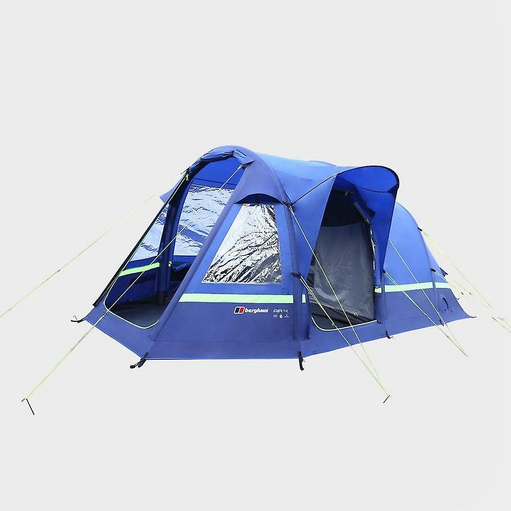 New Berghaus Air 4 Inflatable Family Tent Blue | Fruugo