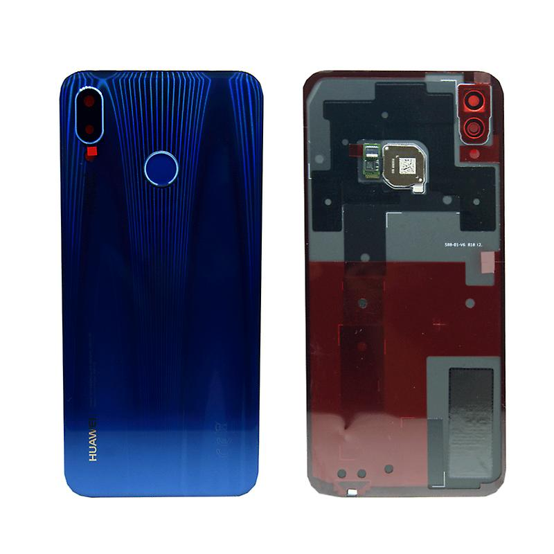 new styles cf3a5 80b29 Huawei battery cover battery cover battery cover blue for P20 Lite / dual /  02351VNU repair new