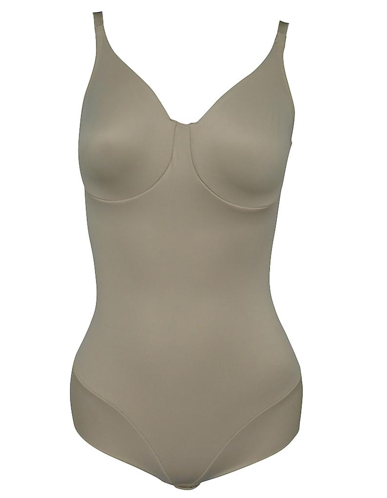 c22c1573d8 Miraclesuit Shapewear Comfort Leg Nude Moulded Cup Bodybriefer 2802 ...