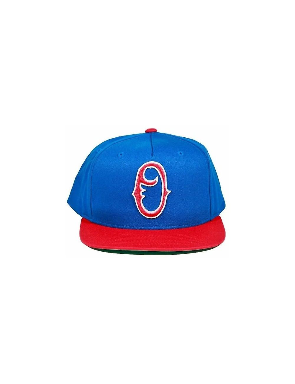 Obey Clothing Staple Snapback - Blue red  190dd3ac619f