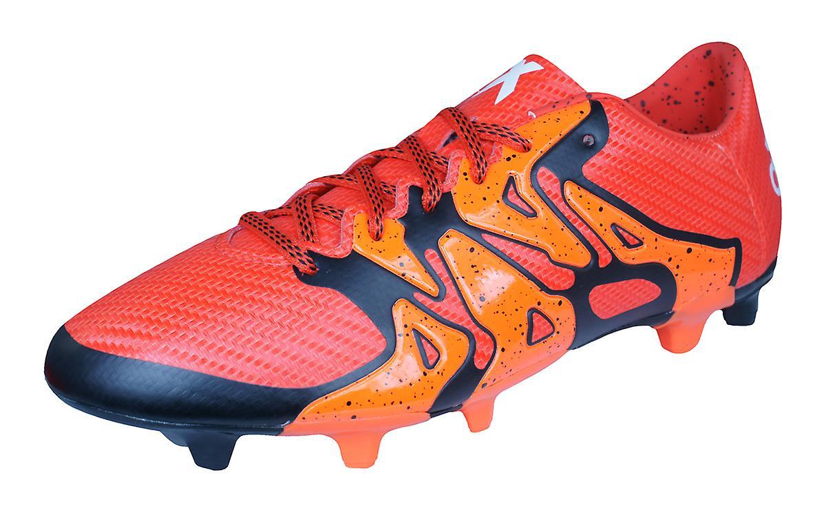 adidas X15.3 FG   AG Mens Football Boots   Cleats - Orange  190ffc38a