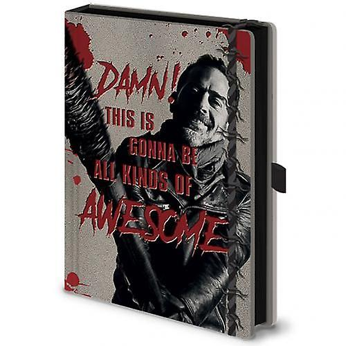Den Walking Dead Premium Notebook Negan  48f1712661bcc