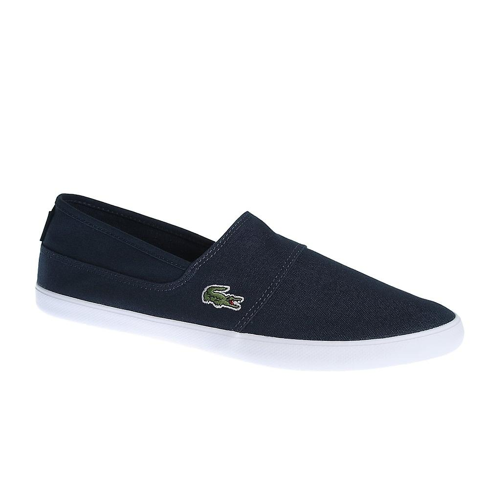 216bcfe6a Lacoste Marice Lcr Spm Slip On Canvas Trainers