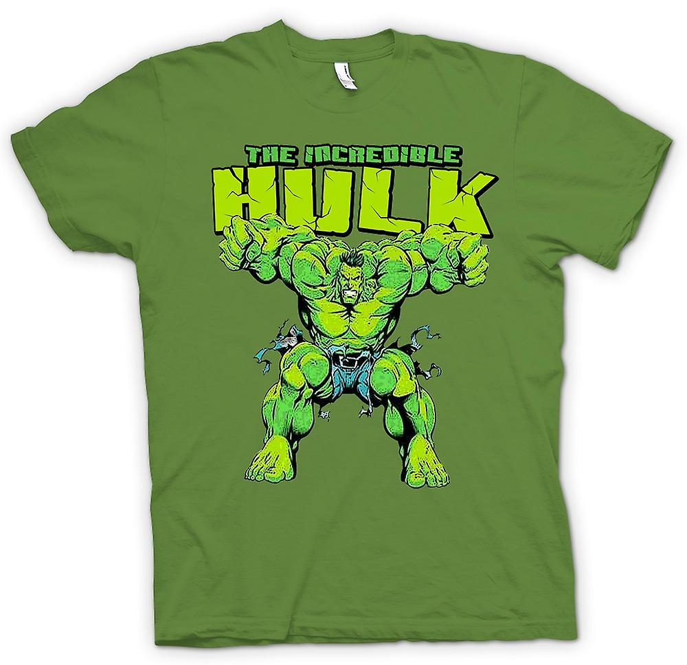 Womens t shirt incredible hulk comic hero fruugo for Hulk fishing shirts