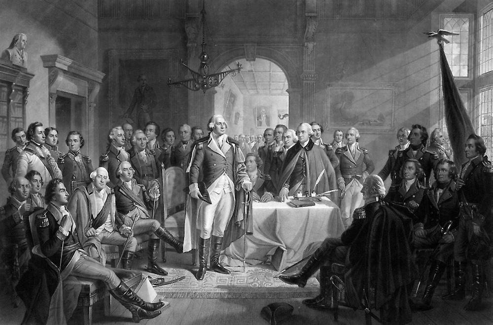 government and politics under the leadership of george washington Politics & government government next what government type did george washington favor he says: i see one head gradually changing into 13 i see the powers of.