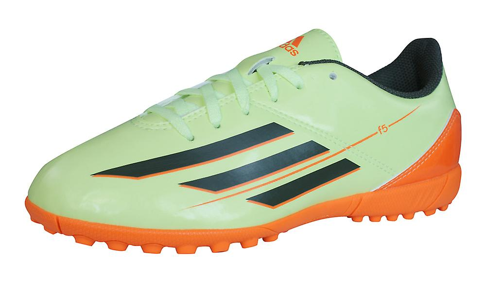 9a93bc6266ca adidas F5 TRX TF J Boys Football Trainers   Boots - Green